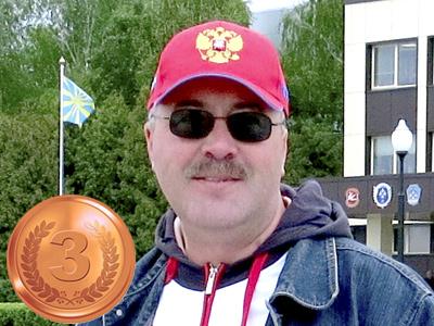 "3 место Курбатов Николай ""СТК-СЮТ"" Клин"
